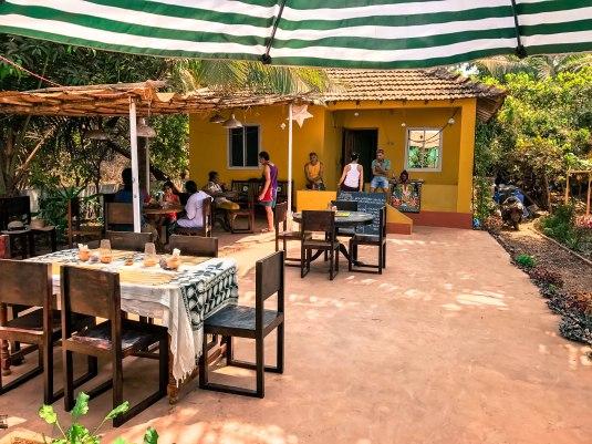Italian Restaurant at Anjuna