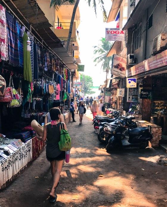 Streets of Arambol