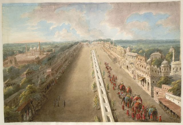 Chandni Chowk Painting