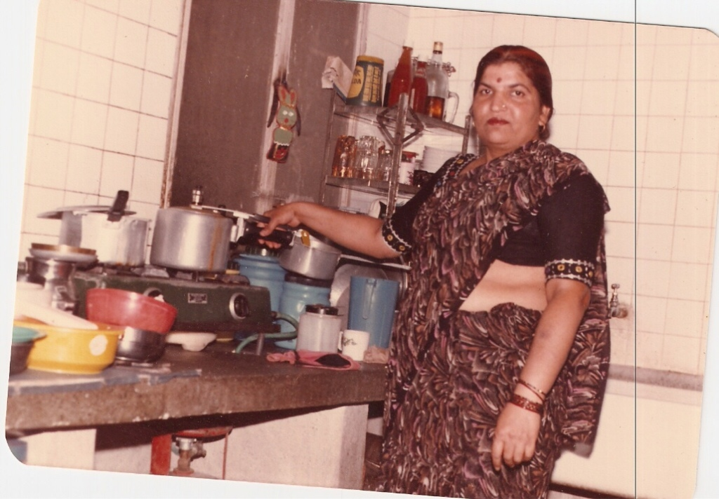 My Mom looking incredible in a Saree